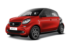 Авто Smart Forfour, 2016 года выпуска, цена 1 356 782 руб., Москва