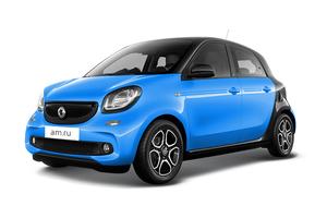 Авто Smart Forfour, 2016 года выпуска, цена 1 417 700 руб., Москва