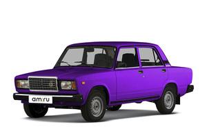 Автомобиль ВАЗ (Lada) 2107, среднее состояние, 2002 года выпуска, цена 40 000 руб., Челябинск