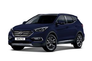 Авто Hyundai Santa Fe, 2016 года выпуска, цена 2 467 000 руб., Москва