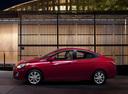 Подержанный Hyundai Solaris, красный , цена 530 000 руб. в республике Татарстане, отличное состояние