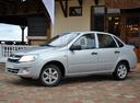 Новый ВАЗ (Lada) Granta, серебряный , 2016 года выпуска, цена 515 000 руб. в автосалоне Экспресс-Авто Кропоткин
