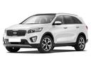 Новый Kia Sorento, белый металлик, 2016 года выпуска, цена 2 389 900 руб. в автосалоне Урал Авто на Белорецком