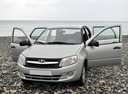 Новый ВАЗ (Lada) Granta, серебряный , 2016 года выпуска, цена 533 400 руб. в автосалоне ТТС Нижнекамск Lada
