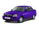 Подержанный ВАЗ (Lada) Priora, фиолетовый , цена 175 000 руб. в республике Татарстане, хорошее состояние