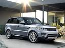 Фото авто Land Rover Range Rover Sport 2 поколение, ракурс: 315 цвет: серебряный