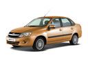 Подержанный ВАЗ (Lada) Granta, оранжевый, 2016 года выпуска, цена 384 000 руб. в Ростове-на-Дону, автосалон