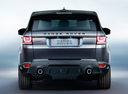 Фото авто Land Rover Range Rover Sport 2 поколение, ракурс: 180 цвет: серый