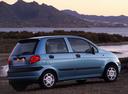 Подержанный Daewoo Matiz, голубой перламутр, цена 145 000 руб. в Челябинской области, хорошее состояние