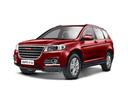 Подержанный Haval H6, красный, 2016 года выпуска, цена 989 000 руб. в Москве, автосалон