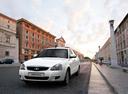 Новый ВАЗ (Lada) Priora, белый , 2016 года выпуска, цена 474 000 руб. в автосалоне
