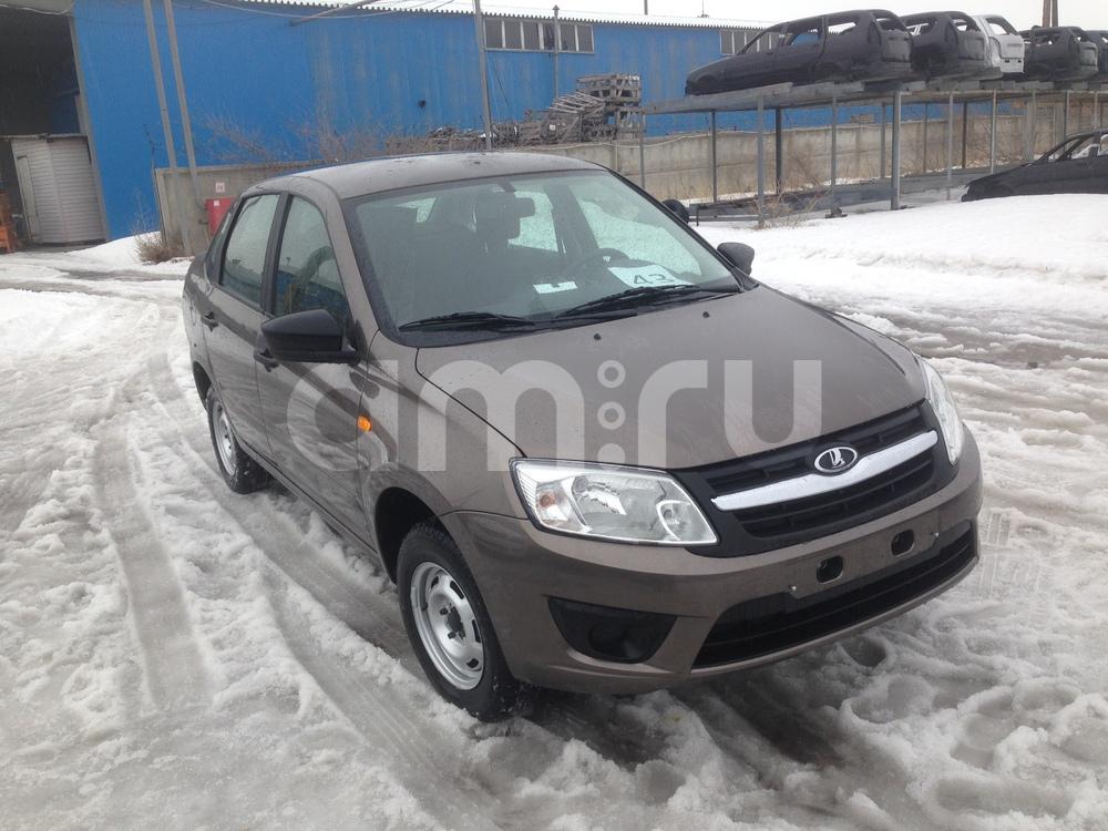 ВАЗ (Lada) Granta с пробегом, коричневый , отличное состояние, 2016 года выпуска, цена 467 000 руб. в автосалоне  ()