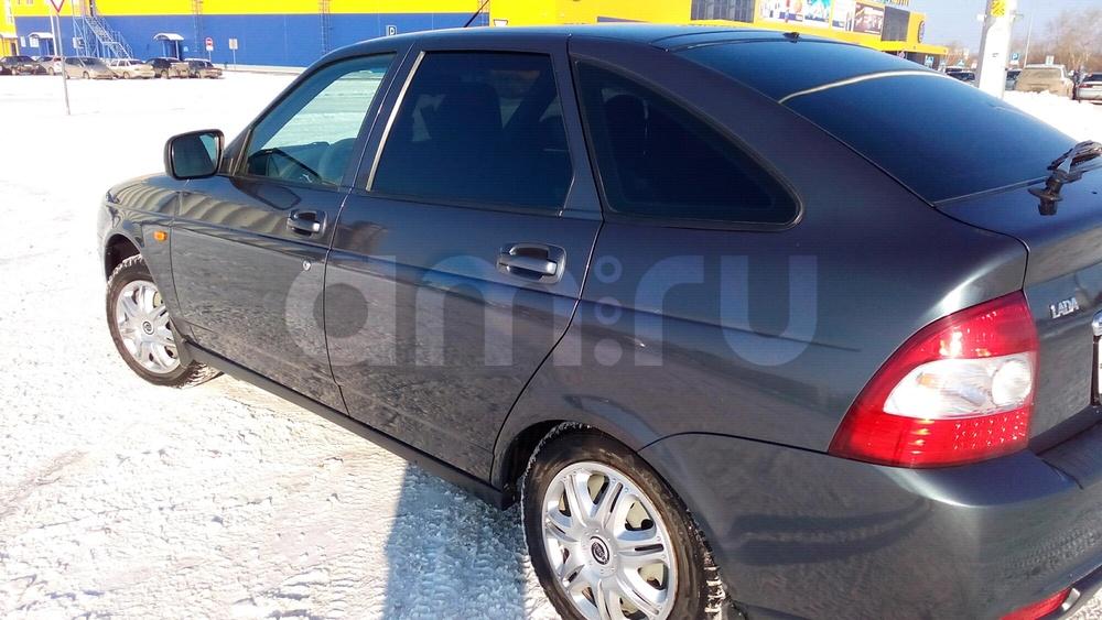 Подержанный ВАЗ (Lada) Priora, отличное состояние, мокрый асфальт металлик, 2013 года выпуска, цена 335 000 руб. в Челябинской области