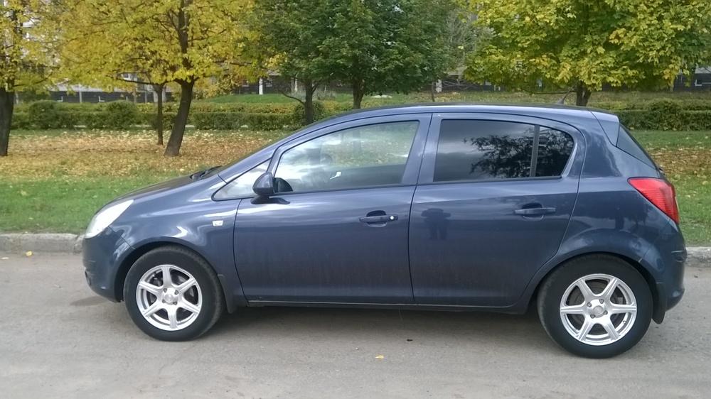 Подержанный Opel Corsa, хорошее состояние, синий матовый, 2010 года выпуска, цена 350 000 руб. в республике Татарстане