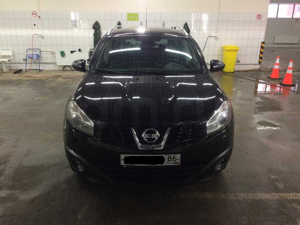 Подержанный Nissan Qashqai+2, хорошее состояние, черный , 2010 года выпуска, цена 580 000 руб. в ао. Ханты-Мансийском Автономном округе - Югре