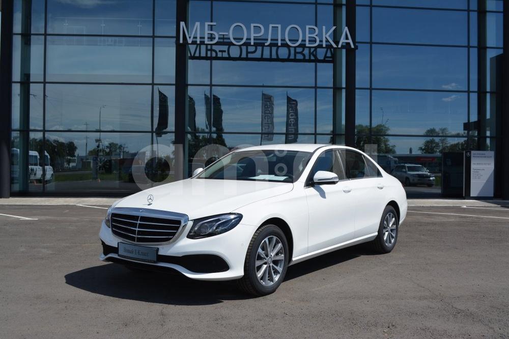 Новый авто Mercedes-Benz E-Класс, белый матовый, 2016 года выпуска, цена 2 821 000 руб. в автосалоне МБ-Орловка (Набережные Челны, тракт Мензелинский, д. 24)
