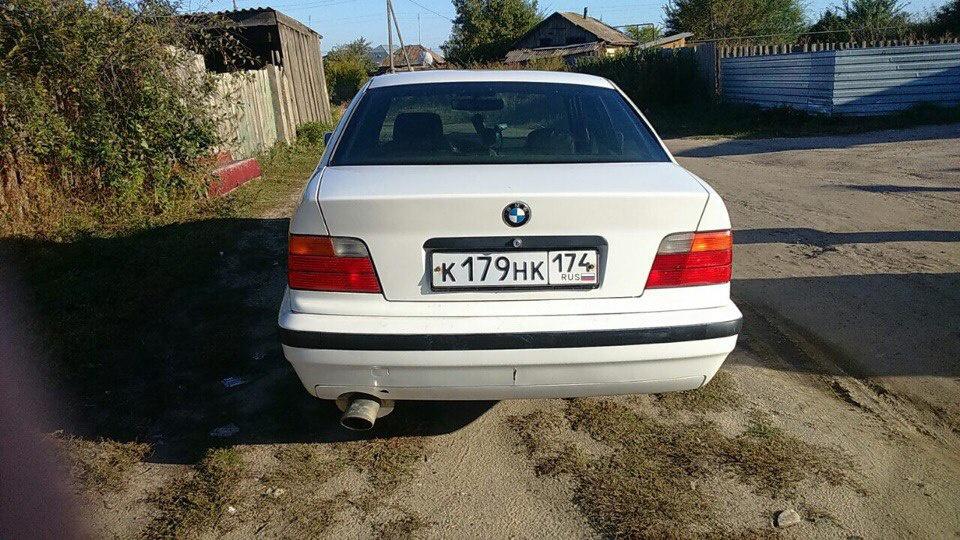 Подержанный BMW 3 серия, хорошее состояние, белый , 1990 года выпуска, цена 130 000 руб. в Челябинской области