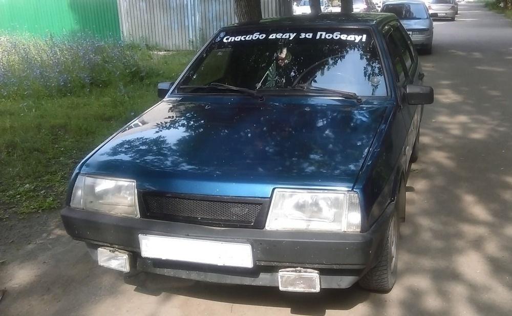Подержанный ВАЗ (Lada) 2109, хорошее состояние, синий , 2004 года выпуска, цена 70 000 руб. в республике Татарстане