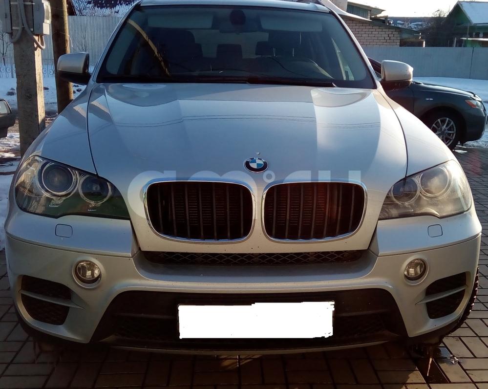 Подержанный BMW X5, отличное состояние, серебряный , 2013 года выпуска, цена 2 700 000 руб. в республике Татарстане