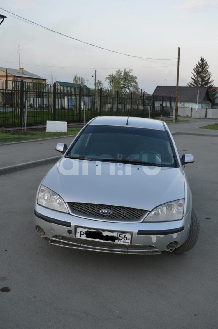 Подержанный Ford Mondeo, хорошее состояние, серебряный , 2002 года выпуска, цена 165 000 руб. в Челябинской области