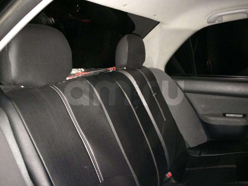 Подержанный Mitsubishi Lancer, хорошее состояние, черный , 2004 года выпуска, цена 230 000 руб. в Челябинской области