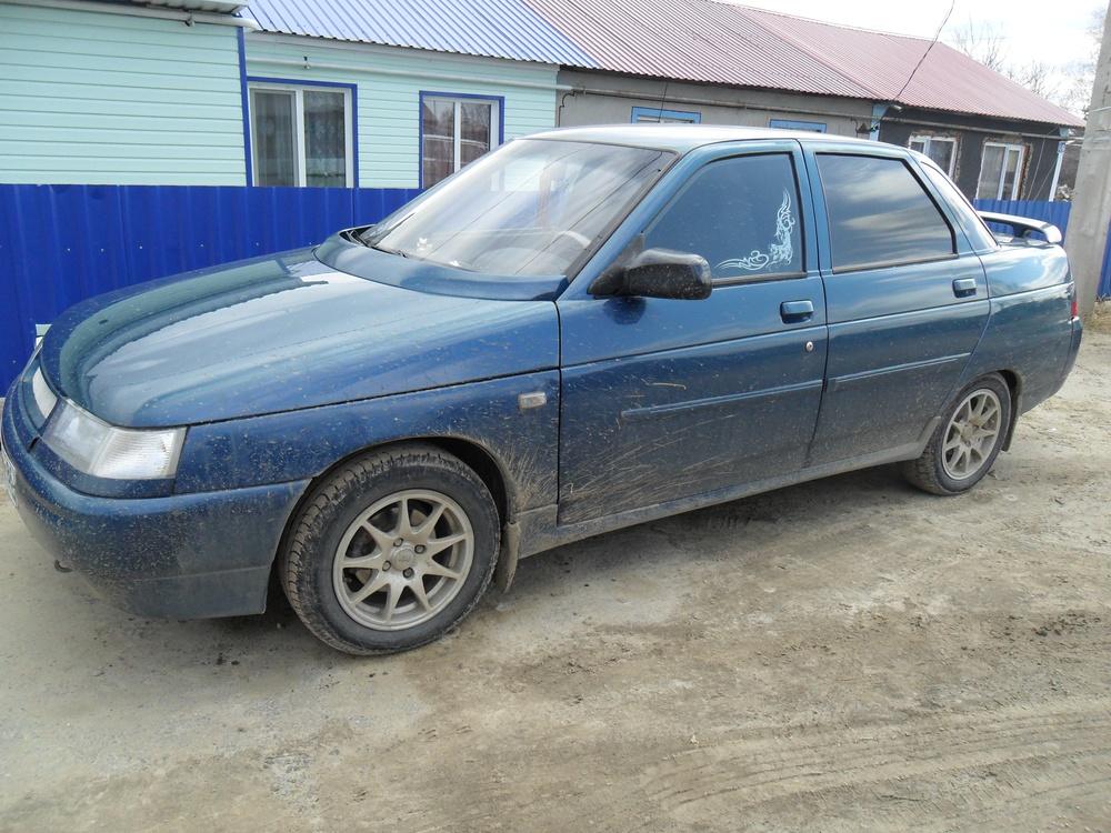 Подержанный ВАЗ (Lada) 2110, хорошее состояние, синий , 2005 года выпуска, цена 150 000 руб. в ао. Ханты-Мансийском Автономном округе - Югре