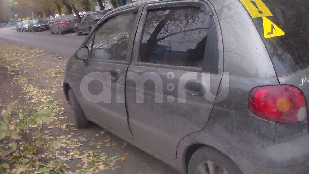Подержанный Daewoo Matiz, хорошее состояние, коричневый перламутр, 2004 года выпуска, цена 73 000 руб. в республике Татарстане