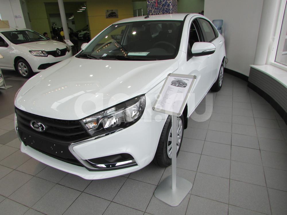 ВАЗ (Lada) Vesta с пробегом, белый , отличное состояние, 2016 года выпуска, цена 504 000 руб. в автосалоне  ()