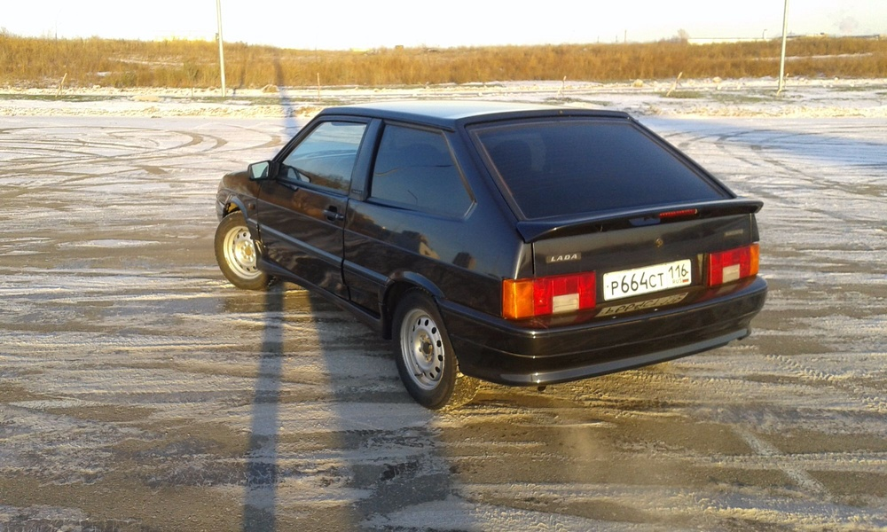 Подержанный ВАЗ (Lada) 2113, отличное состояние, мокрый асфальт металлик, 2008 года выпуска, цена 120 000 руб. в республике Татарстане