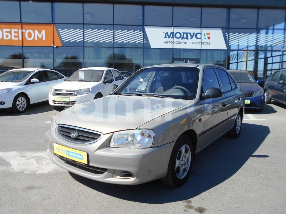 Hyundai Accent с пробегом, бежевый металлик, отличное состояние, 2008 года выпуска, цена 220 000 руб. в автосалоне МОДУС ПЛЮС Ростов-на-Дону (Ростов-на-Дону, пер. 1-й Машиностроительный, д. 1)