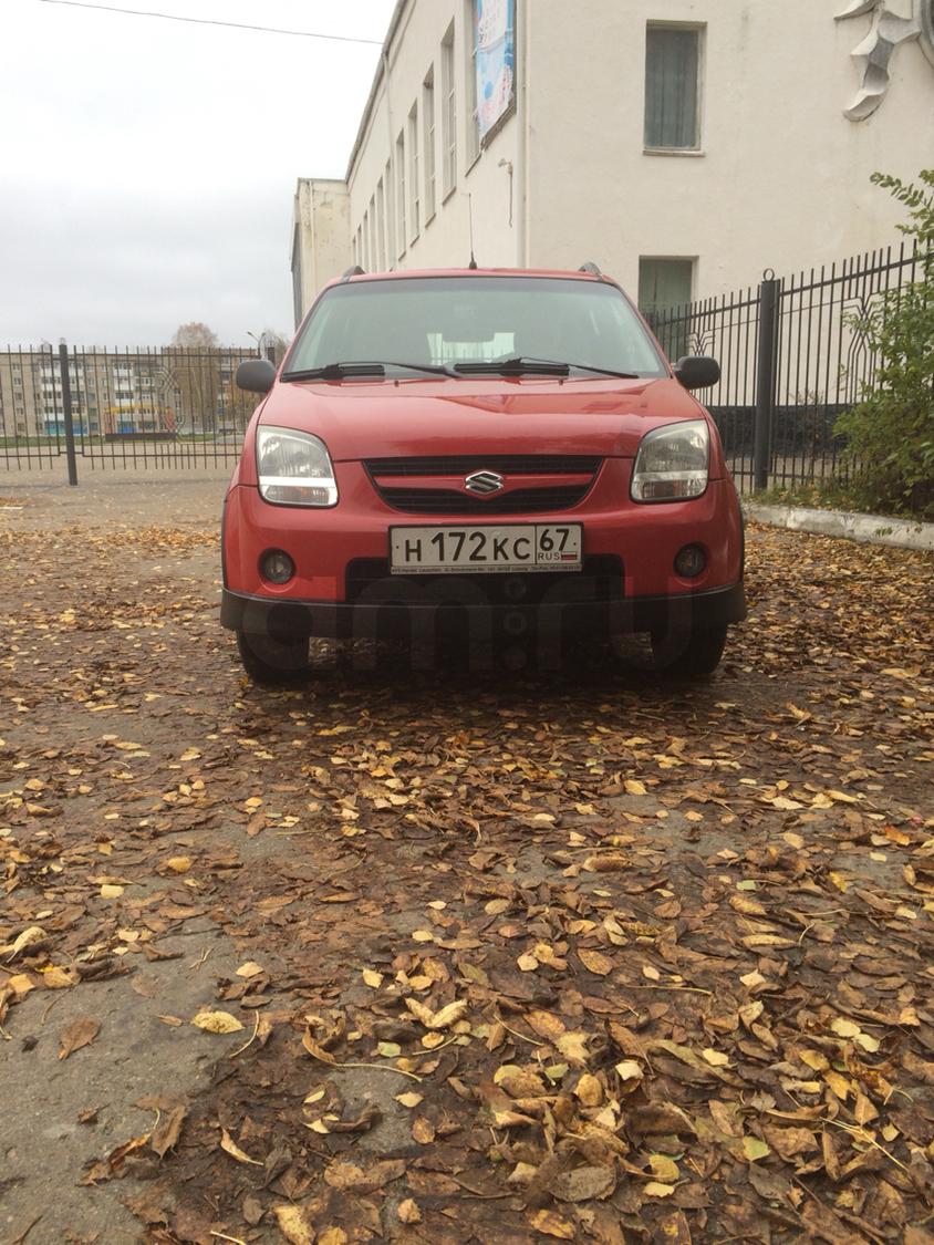 Подержанный Suzuki Ignis, отличное состояние, красный , 2004 года выпуска, цена 260 000 руб. в Смоленской области