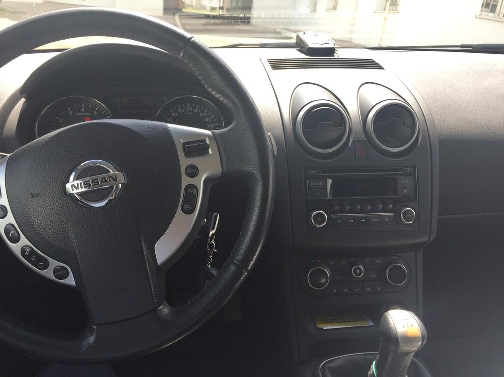 Подержанный Nissan Qashqai, отличное состояние, фиолетовый , 2012 года выпуска, цена 730 000 руб. в республике Татарстане