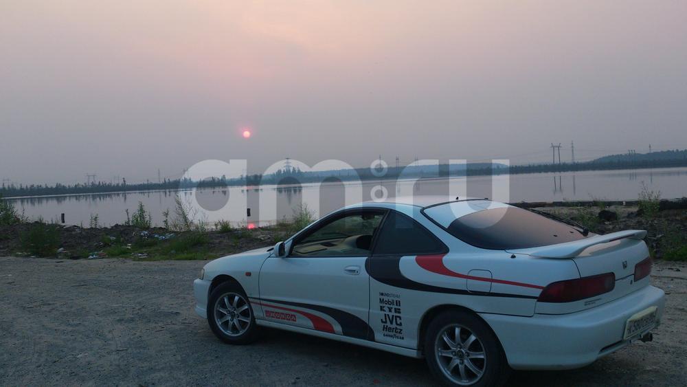 Подержанный Honda Integra, хорошее состояние, белый , 1998 года выпуска, цена 199 999 руб. в ао. Ханты-Мансийском Автономном округе - Югре
