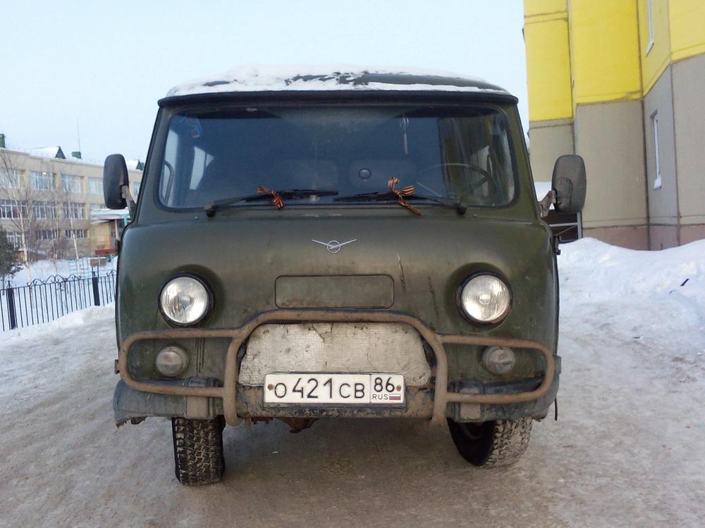 Подержанный УАЗ 39094, хорошее состояние, зеленый , 2005 года выпуска, цена 150 000 руб. в ао. Ханты-Мансийском Автономном округе - Югре