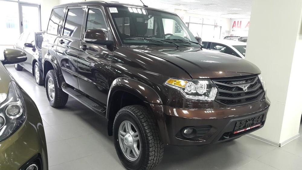УАЗ Patriot с пробегом, коричневый , отличное состояние, 2016 года выпуска, цена 739 900 руб. в автосалоне  ()