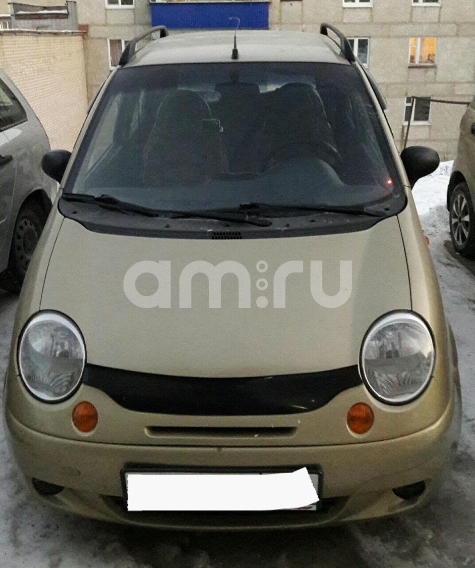 Подержанный Daewoo Matiz, хорошее состояние, бежевый металлик, 2007 года выпуска, цена 160 000 руб. в Челябинской области