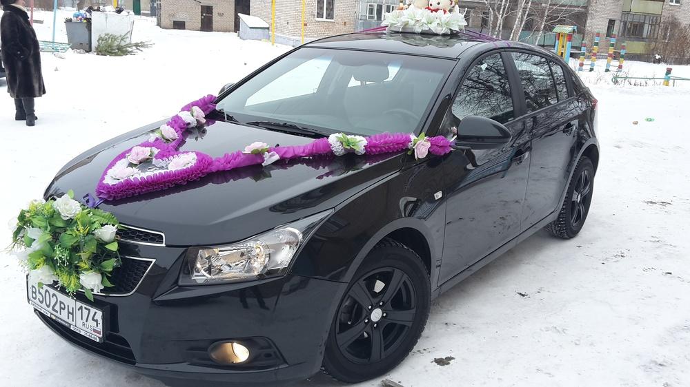 Подержанный Chevrolet Cruze, отличное состояние, черный металлик, 2012 года выпуска, цена 480 000 руб. в Челябинской области