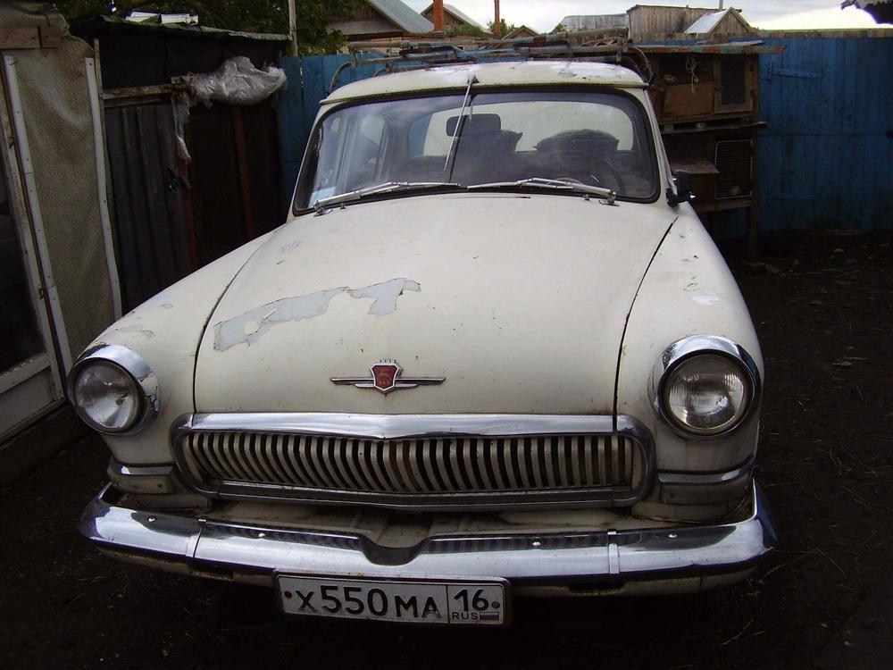 Подержанный ГАЗ 21 Волга, хорошее состояние, бежевый , 1969 года выпуска, цена 350 000 руб. в республике Татарстане