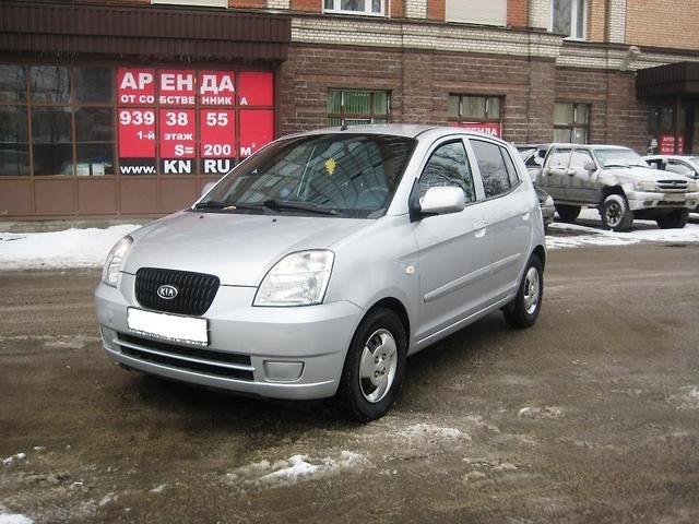 Подержанный Kia Picanto, хорошее состояние, серебряный металлик, 2007 года выпуска, цена 250 000 руб. в Челябинской области
