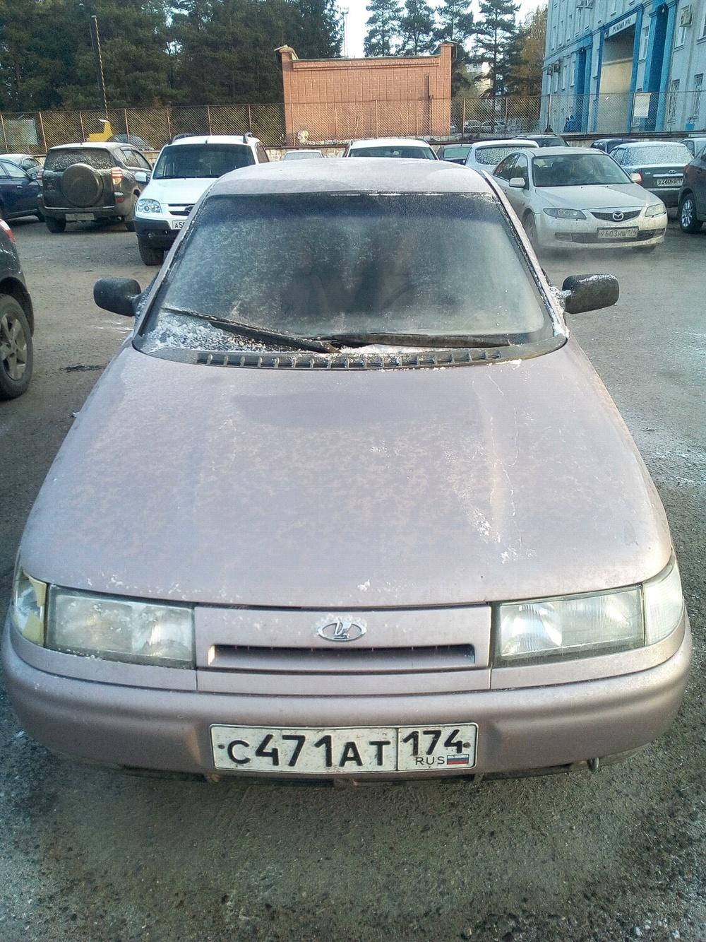 Подержанный ВАЗ (Lada) 2110, хорошее состояние, розовый металлик, 2001 года выпуска, цена 68 000 руб. в Челябинской области