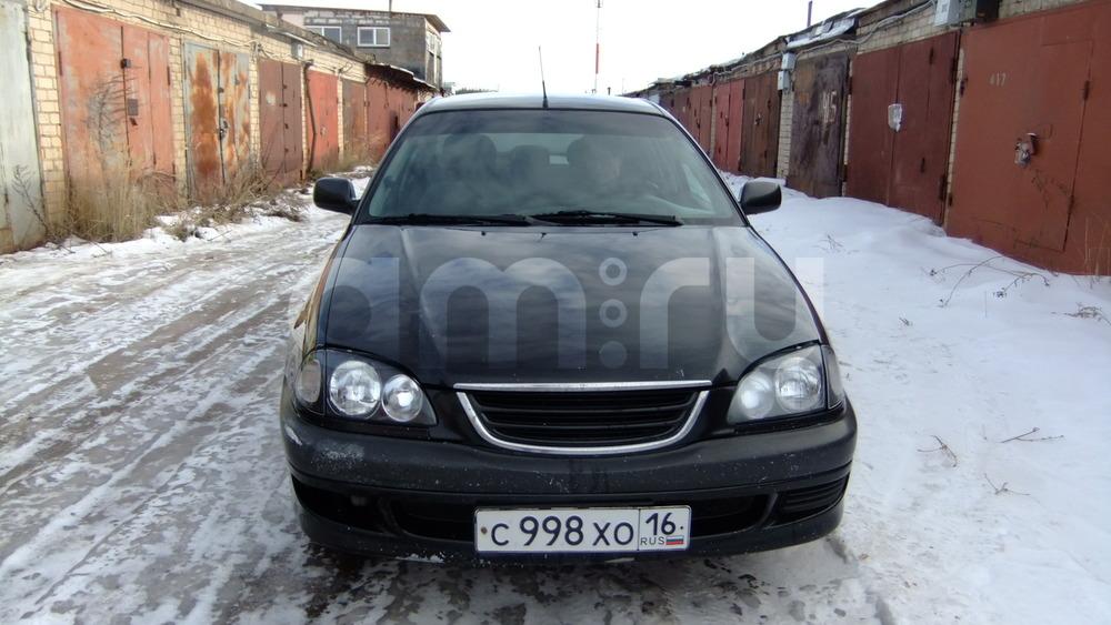 Подержанный Toyota Avensis, хорошее состояние, черный , 1998 года выпуска, цена 170 000 руб. в республике Татарстане