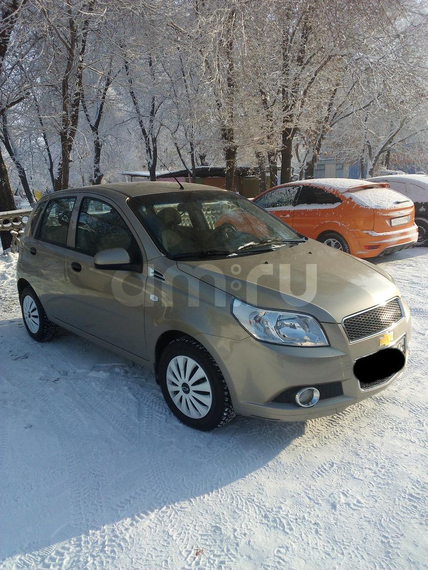 Подержанный Chevrolet Aveo, отличное состояние, золотой , 2012 года выпуска, цена 317 000 руб. в Челябинской области