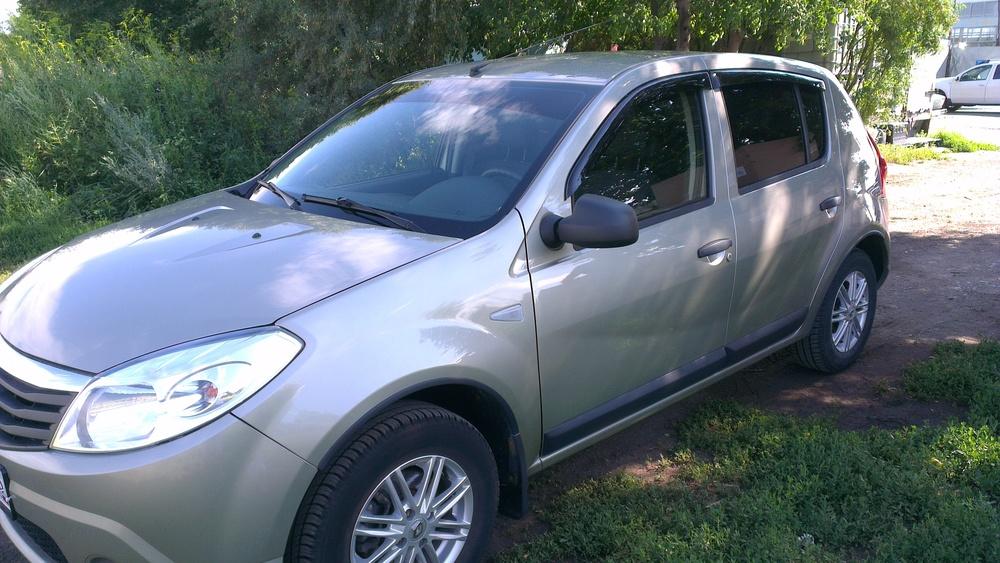 Подержанный Renault Sandero, отличное состояние, бежевый , 2013 года выпуска, цена 430 000 руб. в республике Татарстане