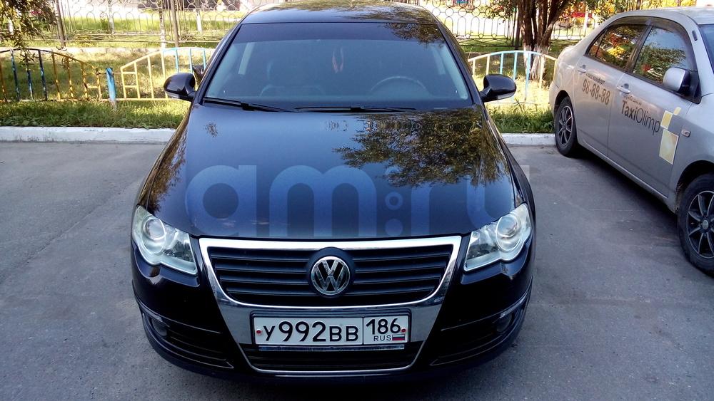 Подержанный Volkswagen Passat, хорошее состояние, черный , 2008 года выпуска, цена 530 000 руб. в ао. Ханты-Мансийском Автономном округе - Югре