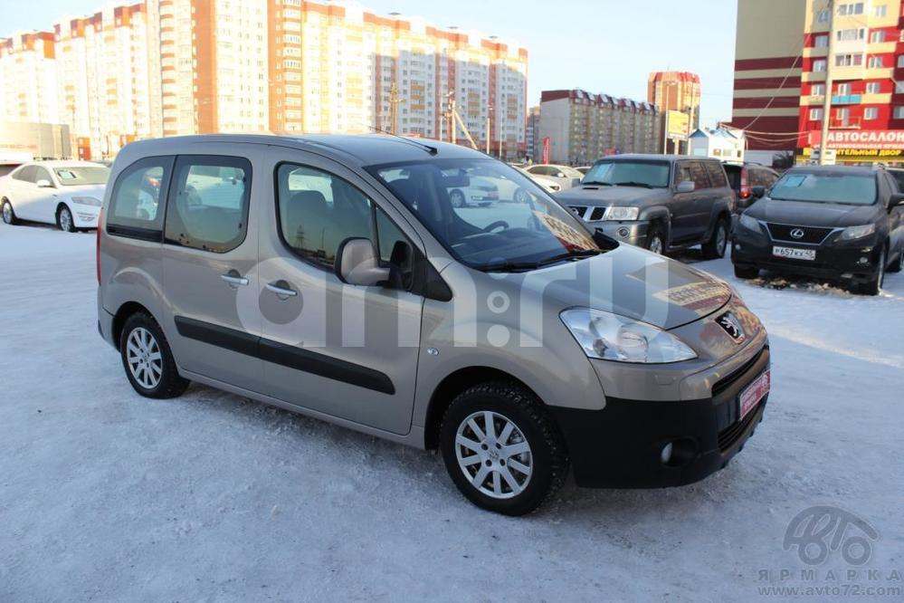 Peugeot Partner с пробегом, бежевый , отличное состояние, 2008 года выпуска, цена 350 000 руб. в автосалоне  ()