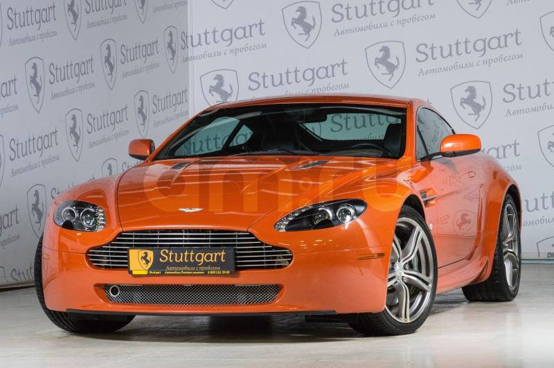 Aston Martin V8 Vantage с пробегом, оранжевый , отличное состояние, 2008 года выпуска, цена 3 600 000 руб. в автосалоне Stuttgart (Екатеринбург, ул. Металлургов, д. 84(напротив ТЦ «Мега»))