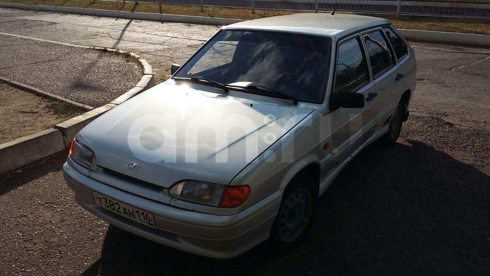 Подержанный ВАЗ (Lada) 2114, хорошее состояние, серебряный перламутр, 2005 года выпуска, цена 83 000 руб. в республике Татарстане
