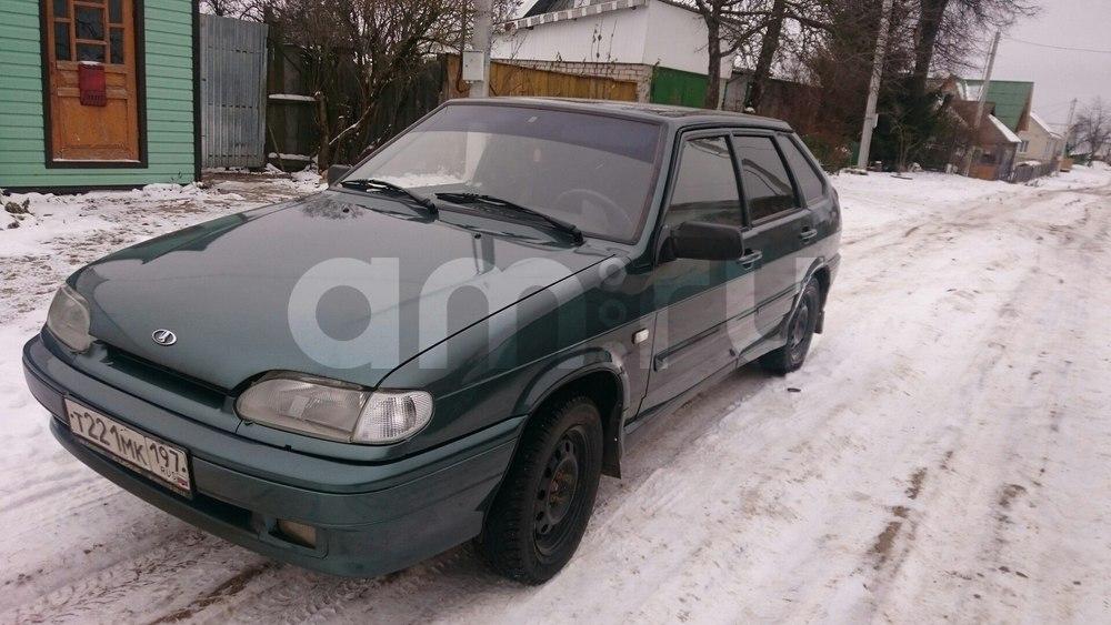 Подержанный ВАЗ (Lada) 2114, хорошее состояние, зеленый металлик, 2011 года выпуска, цена 180 000 руб. в Смоленской области