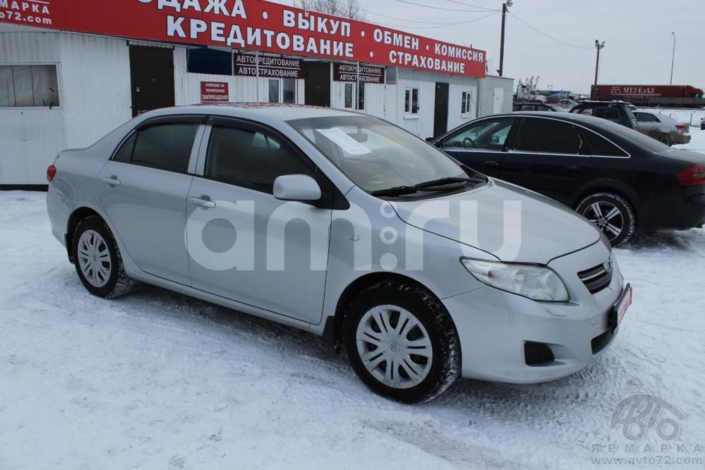 Toyota Corolla с пробегом, серебряный , хорошее состояние, 2008 года выпуска, цена 420 000 руб. в автосалоне  ()