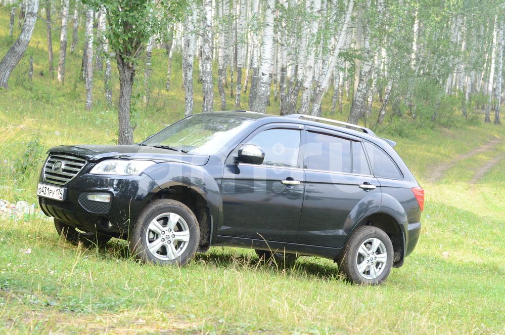 Подержанный Lifan X60, отличное состояние, черный , 2014 года выпуска, цена 500 000 руб. в Челябинской области